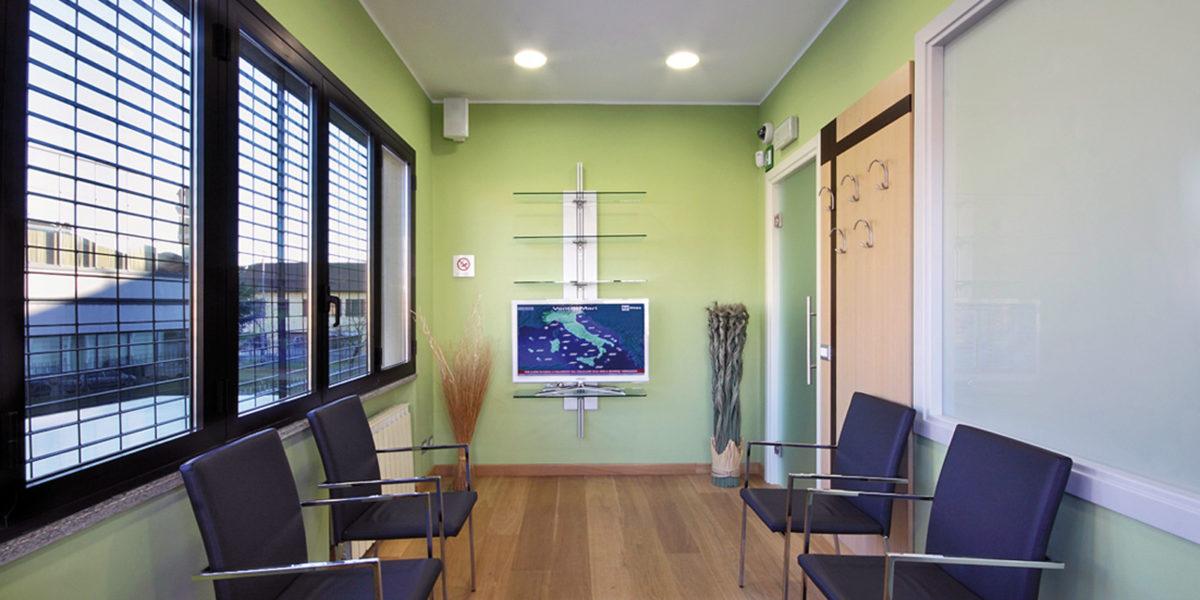 Centri e studi medici e ospedali: luoghi dove l'aria pura è quasi una necessità